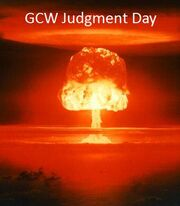 GCW Judgment Day Poster
