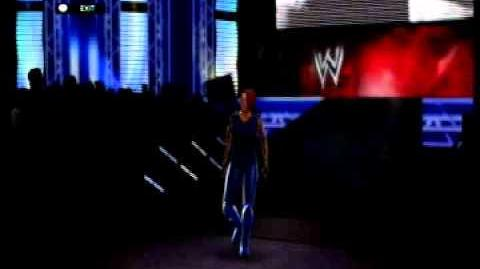 Jessica Knight WWE 2K14 Entrance 2