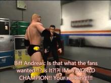 Biff New-NAW Heel turn