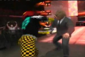 Suspect brawl