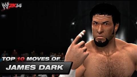 WWE2K14 James Dark Entrance & Top 10 Moves