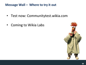 Message Wall & Wiki Nav Slide20