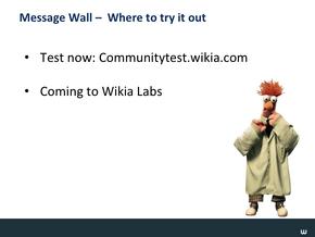 Message Wall & Wiki Nav Slide20