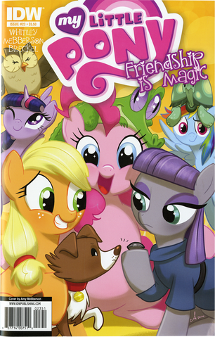 File:MLP IDW Issue 23 Hot Topic cover.png