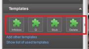 Visual Editor Templates