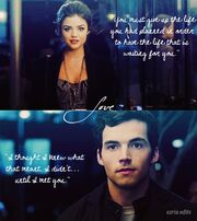 Aria is pretty with ezra