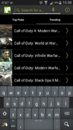 Search in CoD wiki
