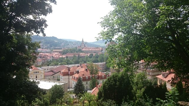 File:Český Krumlov nochmal von oben... aber von der anderen Seite xD.jpg