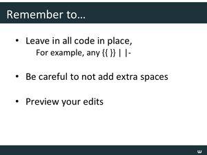 Templates Webinar Slide47