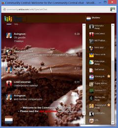 PrntScr Chocolate Chat Skin