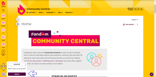 Community Central Wikia
