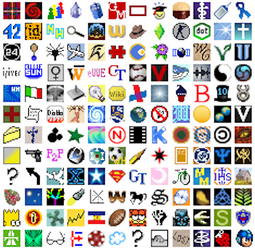 Collection of favicons