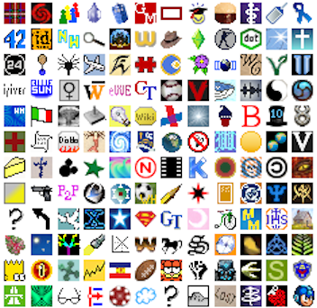 File:Collection of favicons.png