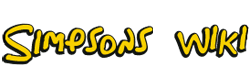 Simpsons Wiki wordmark
