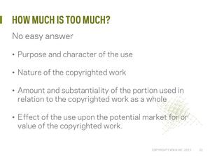 Copyright webinar Slide23