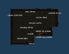 Basement Hideout Floor Plan