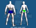 Skin - Swirl Scars (Legs) - Back