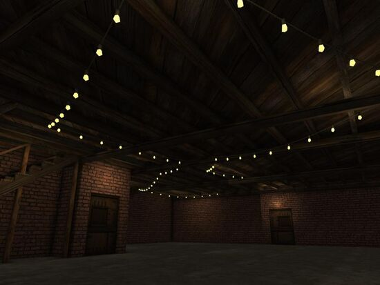Basement - Ceiling Lights - Mom's - String Lights