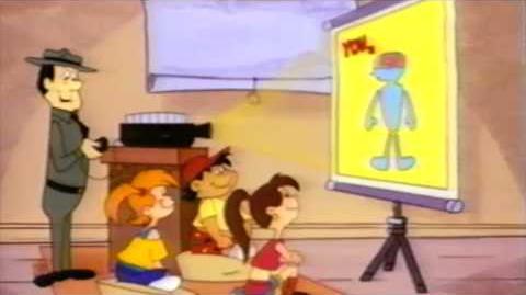 Yogi Bear musical animation production by Hanna -Barbera for D.A.R.E