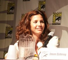 Charisma Carpenter on Veronica Mars panel 2005