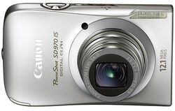 PowerShot SD970IS front
