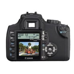 EOS 350D back