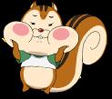 Cheer Boys!! Squirrel Mascot