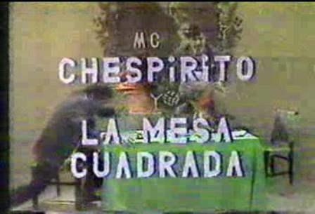 Chespirito y La Mesa Cuadrada