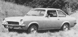 1971 Vega sedan - MT Dec 1970