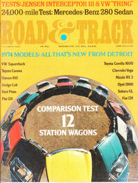 Road & Track - October 1973