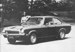 1973 Vega Notchback factory photo
