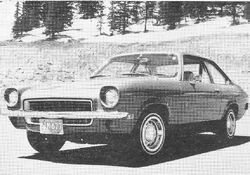 1971 Vega - R&T 5 economy sedans