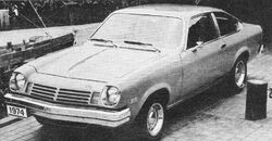 Chevrolet Vega Hatchback - R&T April 1974
