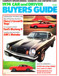 Car & Driver 1974 Buyers Guide