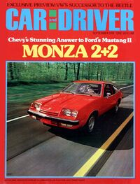 Car and Driver Sept. 1974