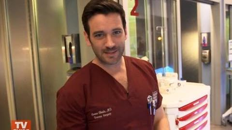 Colin Donnell Takes Us on a Tour of Chicago Med