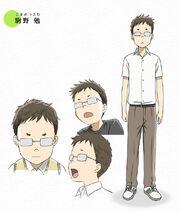 Tsutomu's appearance