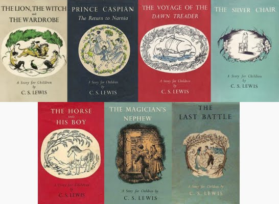 Image result for chronicles of narnia book series