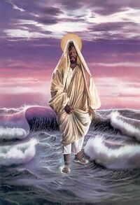 Christ Walking on Water