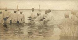 River baptism in New Bern