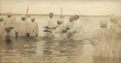 River baptism in New Bern