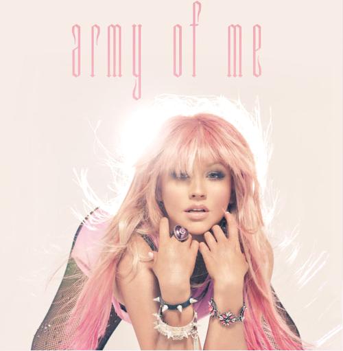 Christina Aguilera army of me