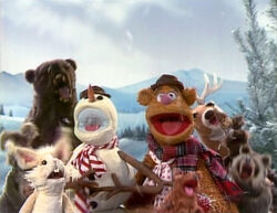 Fozzie singing Sleigh Ride
