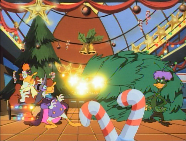 File:Bushroot sics Christmas trees on Darkwing and Launchpad.png