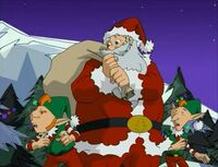 Santa in Jackie Chan Adventures