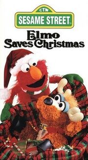 ElmoSavesChristmas VHS 1996