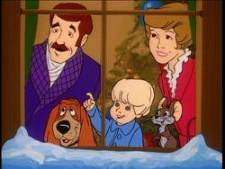 Hanna-Barbera Christmas Story closing scene