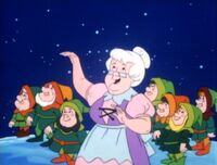Mrs Claus in A Flintstone Christmas
