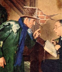 Scrooge rathbone 2