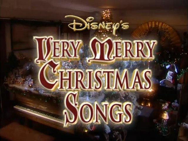 Disney Sing Along Songs Very Merry Christmas Songs